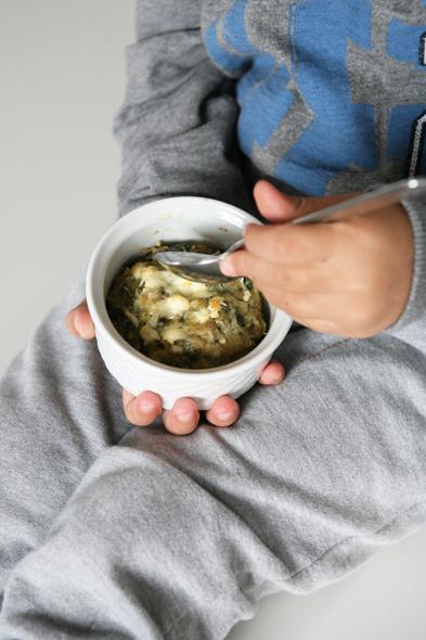 συνταγή σουφλέ σπανάκι