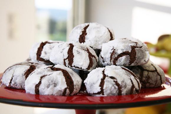 συνταγή μπισκότα σοκολατένια για τα χριστούγεννα