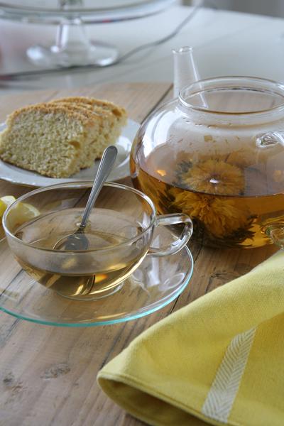 τσάϊ ανθισμένο, blooming tea
