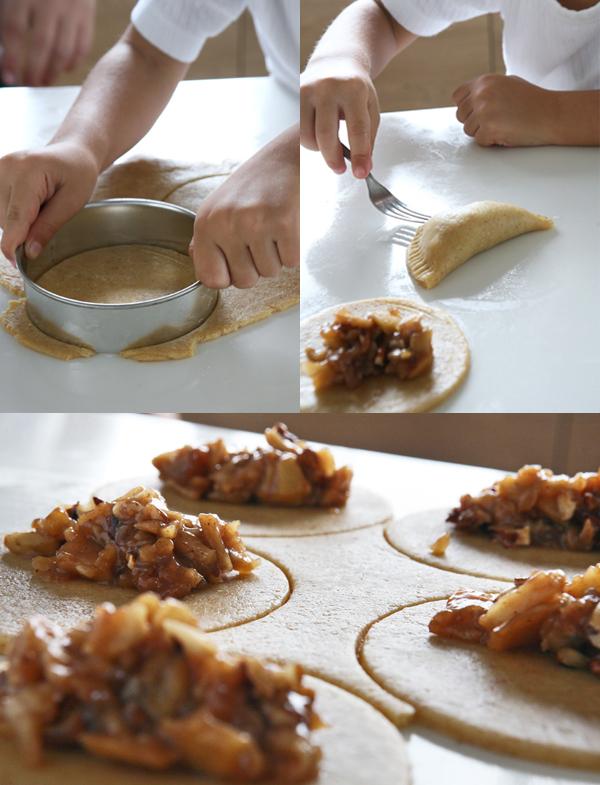 συνταγή μηλοπιτάκια