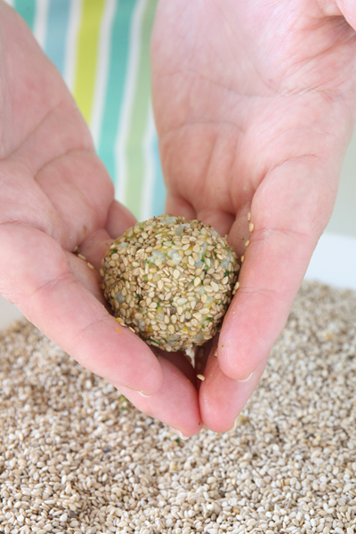συνταγή για ρυζοκεφτεδάκια με κολοκύθα