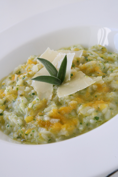 συνταγή ρυζότο κολοκύθας