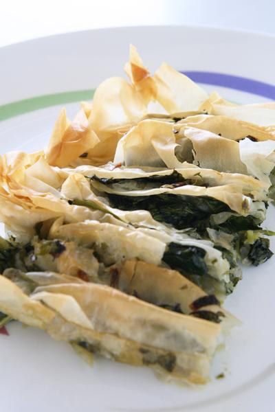 συνταγή σπανακόπιτα νηστίσιμη