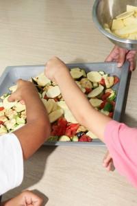 παιδιά και μαγειρική