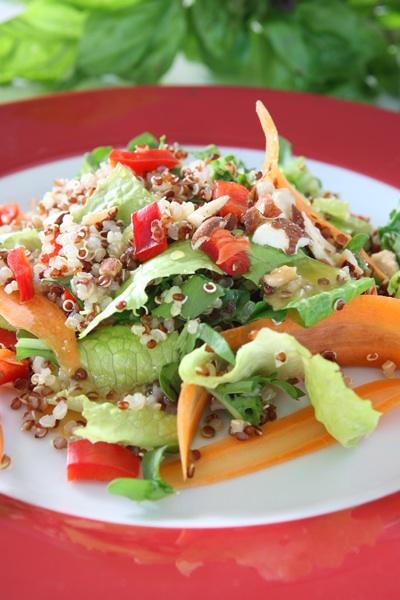συνταγή κινόα σαλάτα