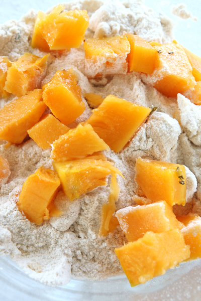 συνταγή ψωμάκια με κολοκύθα