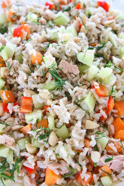 συνταγή ρυζοσαλάτα