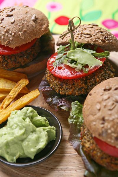 burger χορτοφαγικό