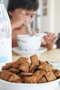 δημητριακά πρωϊνού σπιτικά